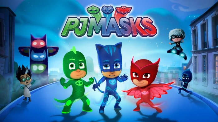 PJ Masks Now Streaming on Netflix #StreamTeam