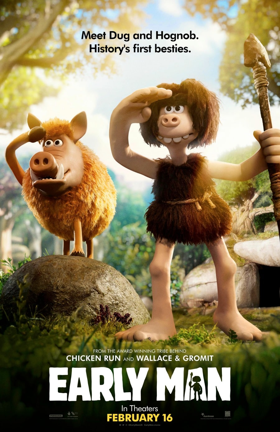 Go See the Early Man Movie February 16th