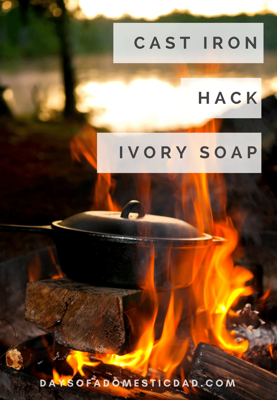 Cast Iron Hack Ivory Soap