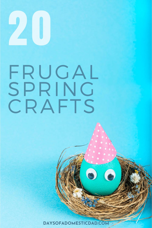Dollar Store Spring Crafts