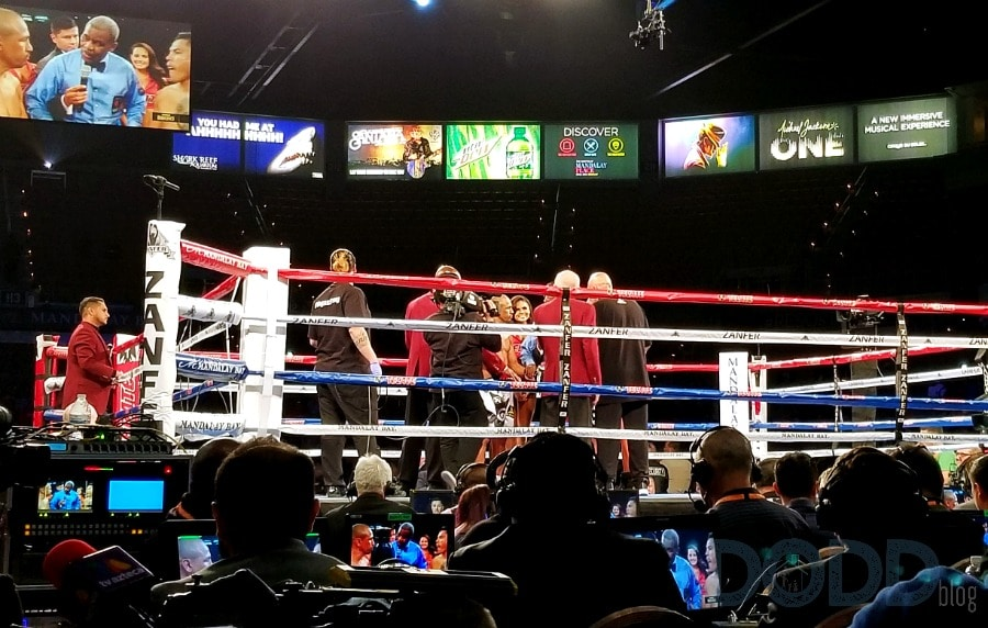 Mandalay Bay Resort Boxing