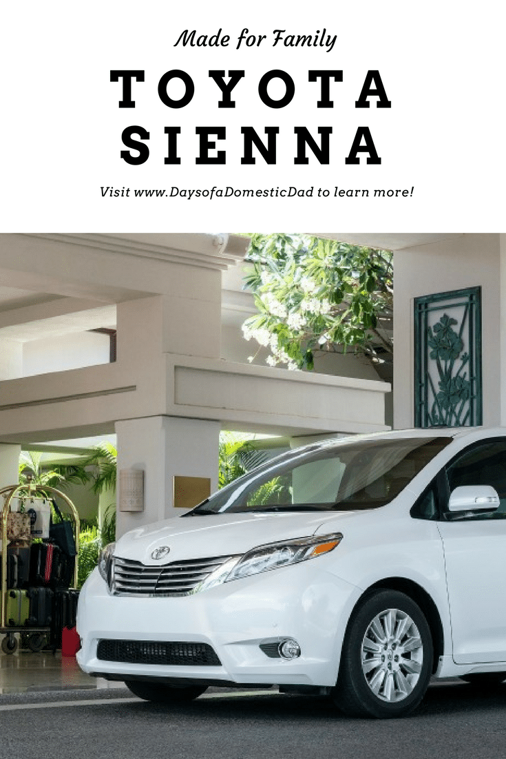 Room for the Whole Family in 2017 Toyota Sienna
