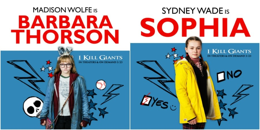 Barbara and Sophia I Kill Giants