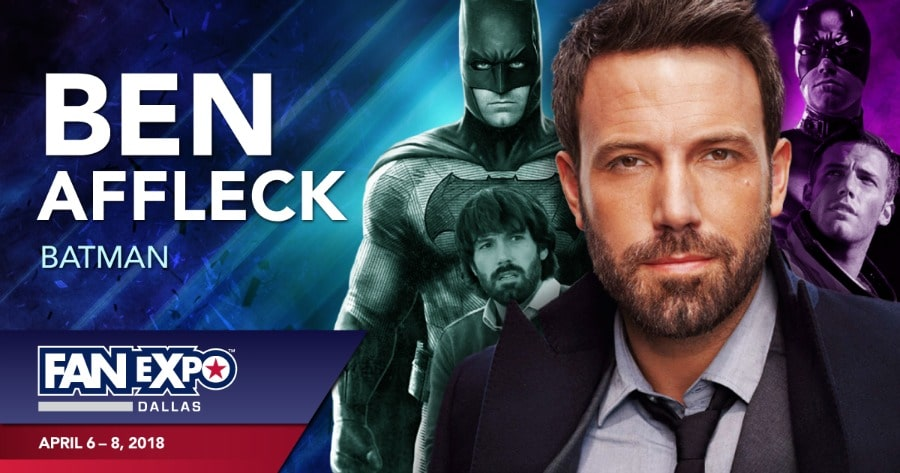 Fan Expo Dallas Ben Affleck