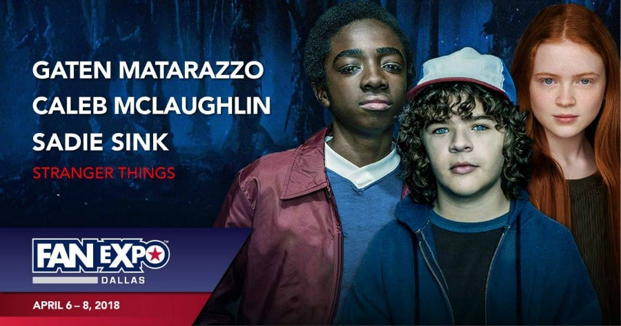 Fan Expo Dallas Stranger Things