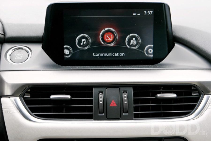 2018 Mazda6 Dashboard