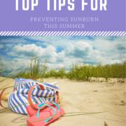 Top Tips for Preventing Sunburn This Summer