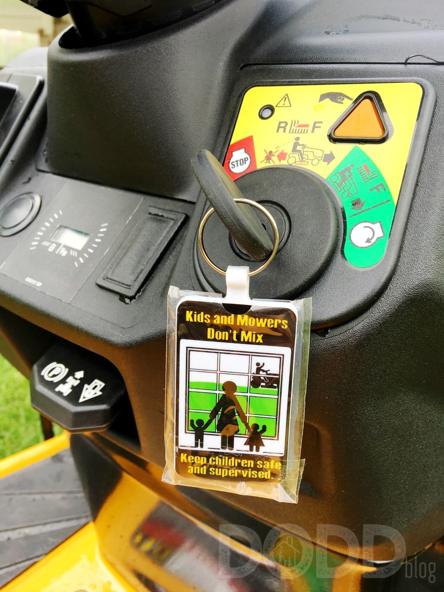 Cub Cadet Key Chain