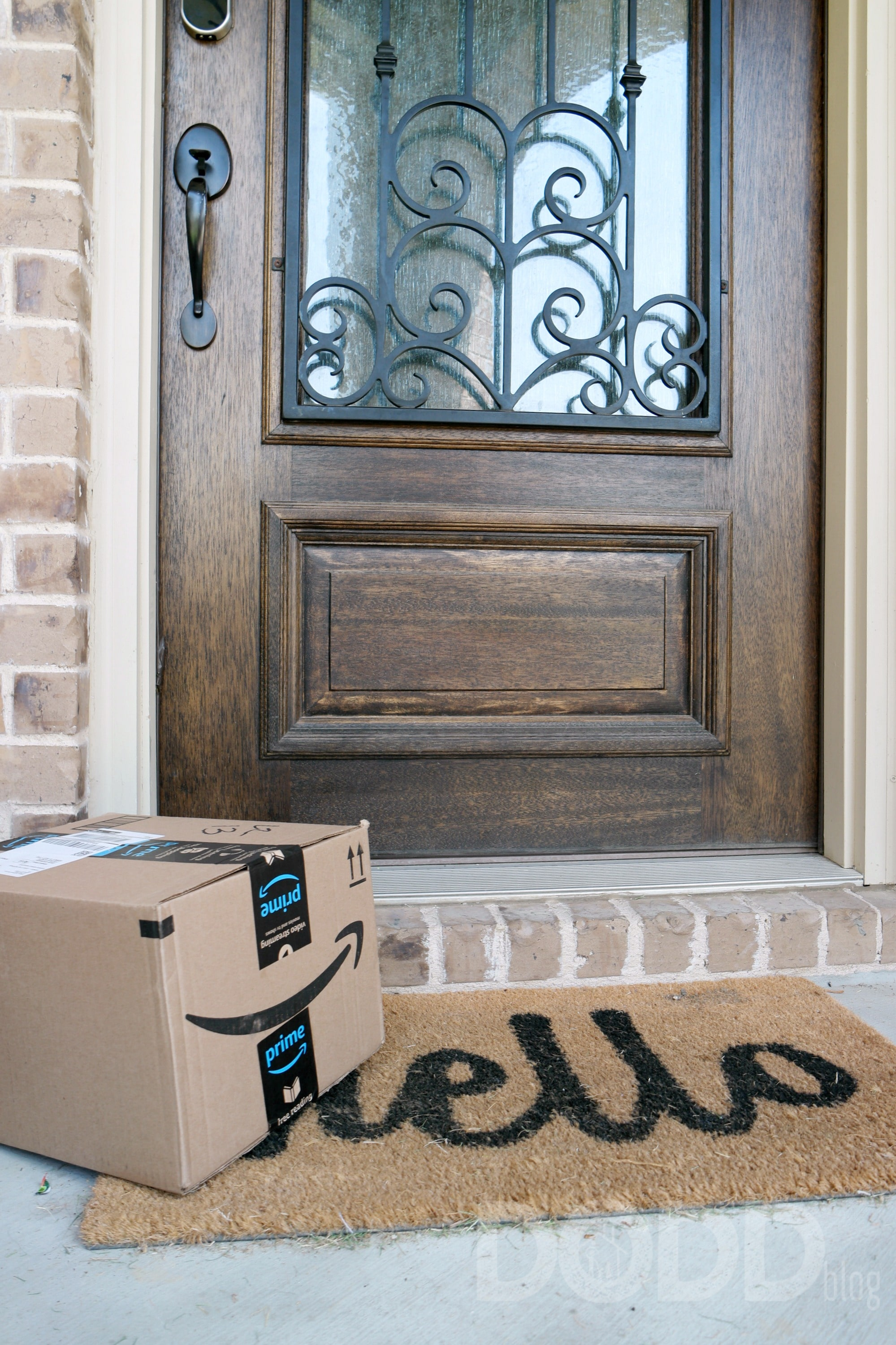 Amazon package front door