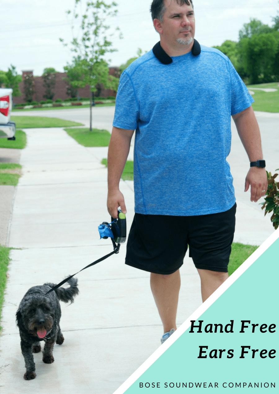 Hands Free. Ears Free – Bose SoundWear Companion Speaker