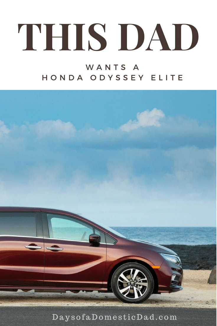 This Dad Wants the Honda Odyssey Elite
