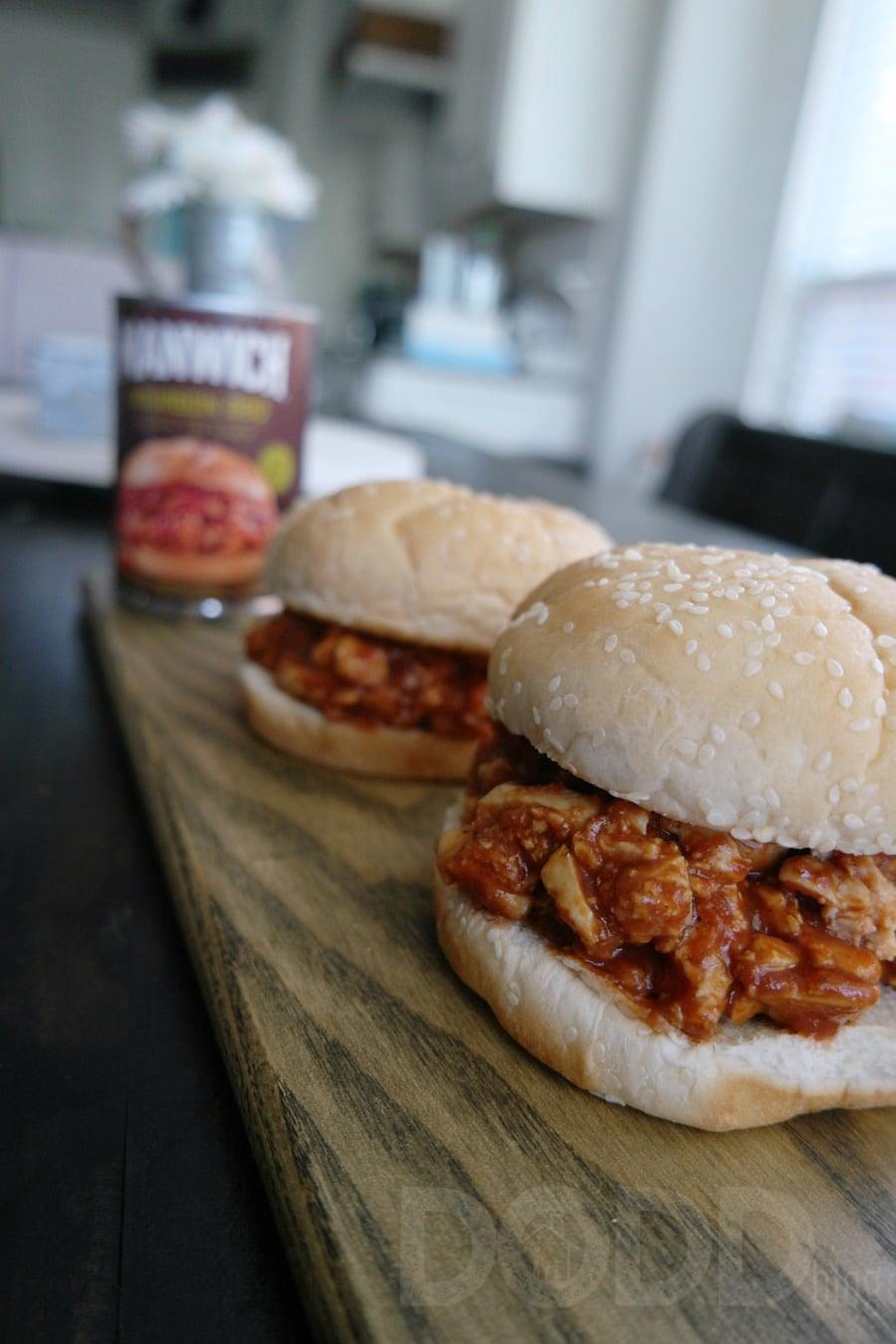 Manwich Bourbon BBQ Sauce