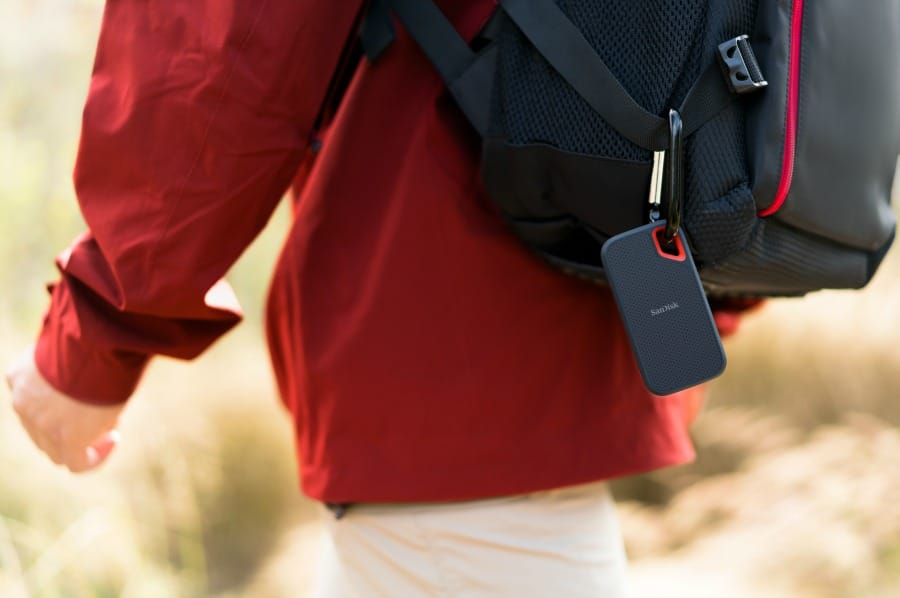 SanDisk Extreme Portable SSD _ Backpack