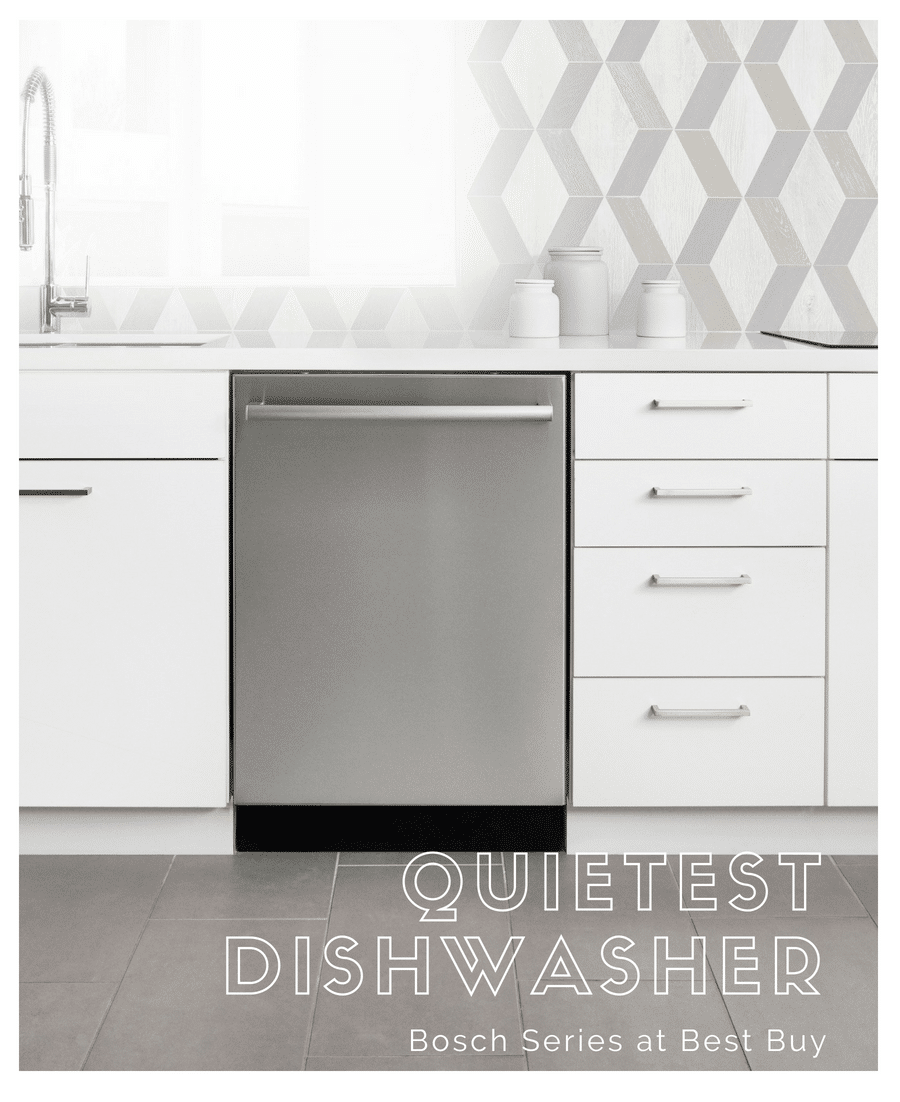 The Quietest Dishwasher You Will Not Hear. Bosch Series Dishwashers at Best Buy