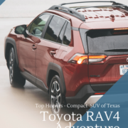 2019 Toyota RAV4 Adventure Top Honors Compact SUV of Texas