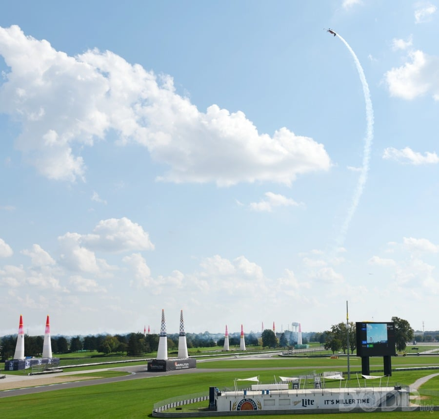 Red Bull Air Race at Indianapolis Speedway