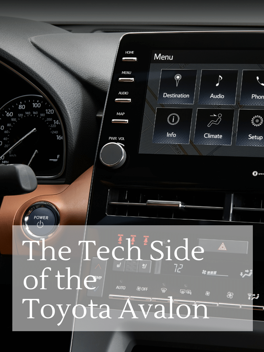 Tech Side of the 2019 Toyota Avalon