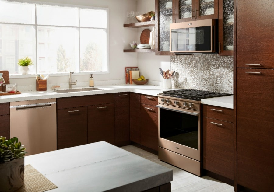 Whirlpool Sunset Bronze Kitchen