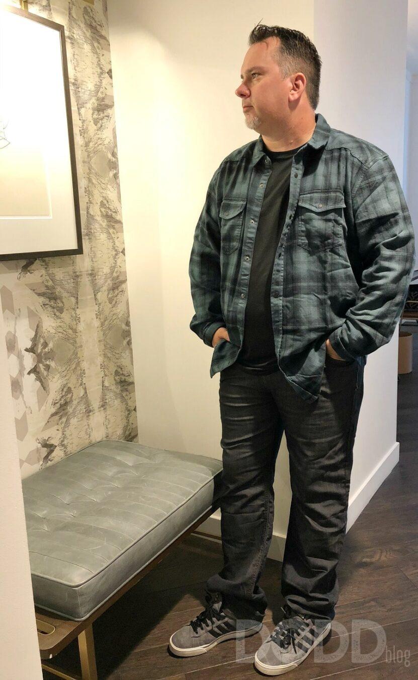 Flannel and Denim are My Fall Favorites #WearOrganicCotton #prAnaFall18