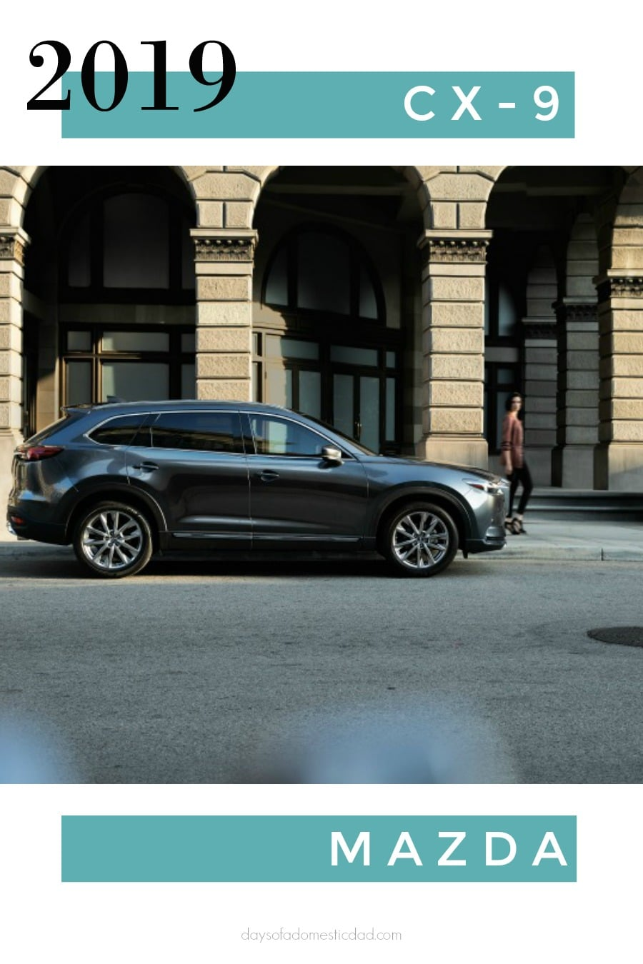 Second-Generation Mazda CX-9 Midsize Crossover is a Win