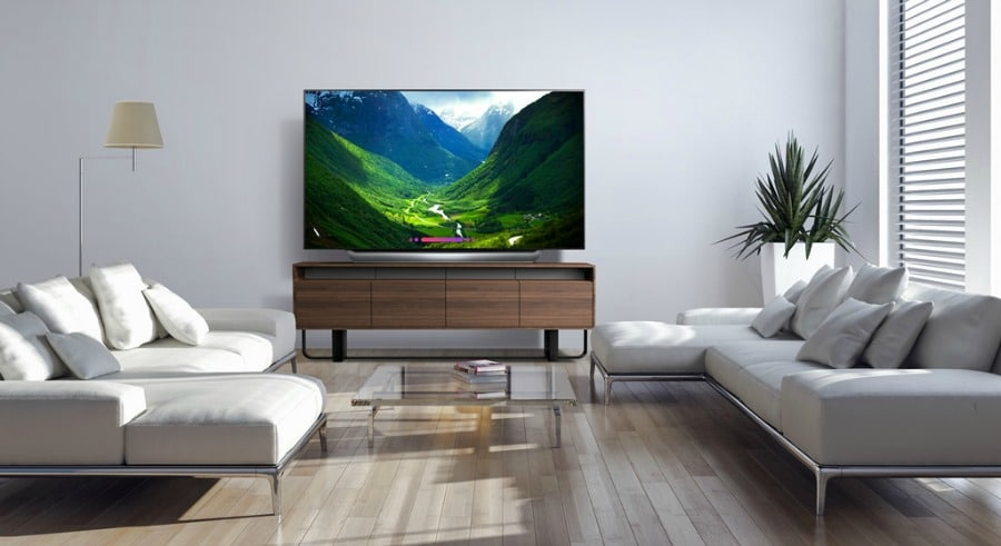 Bring the Movie Theater Experience Home – 77-in LG OLED Television