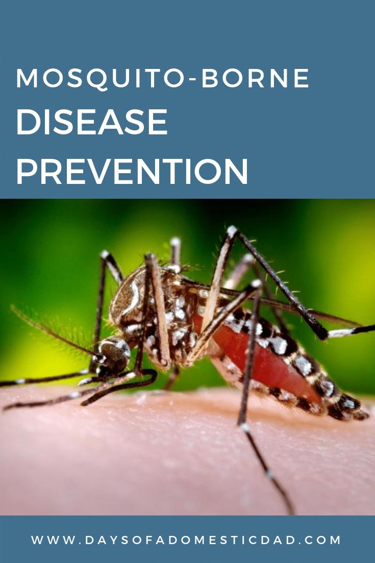 Declare WAR Against Mosquitos: Wear, Apply, Remove