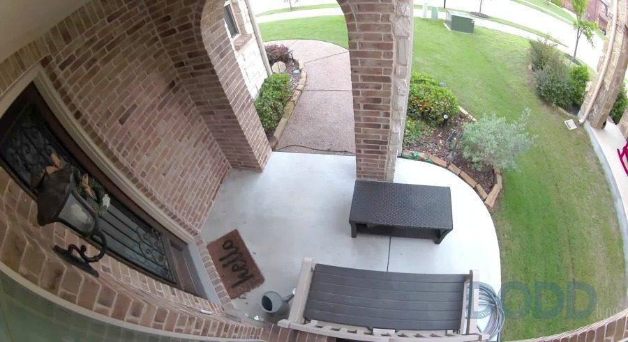 Arlo Ultra HD Cam Front porch