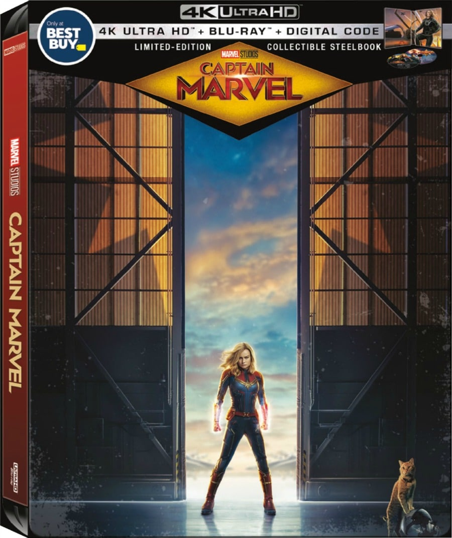 Captain Marvel – Blu-Ray/DVD