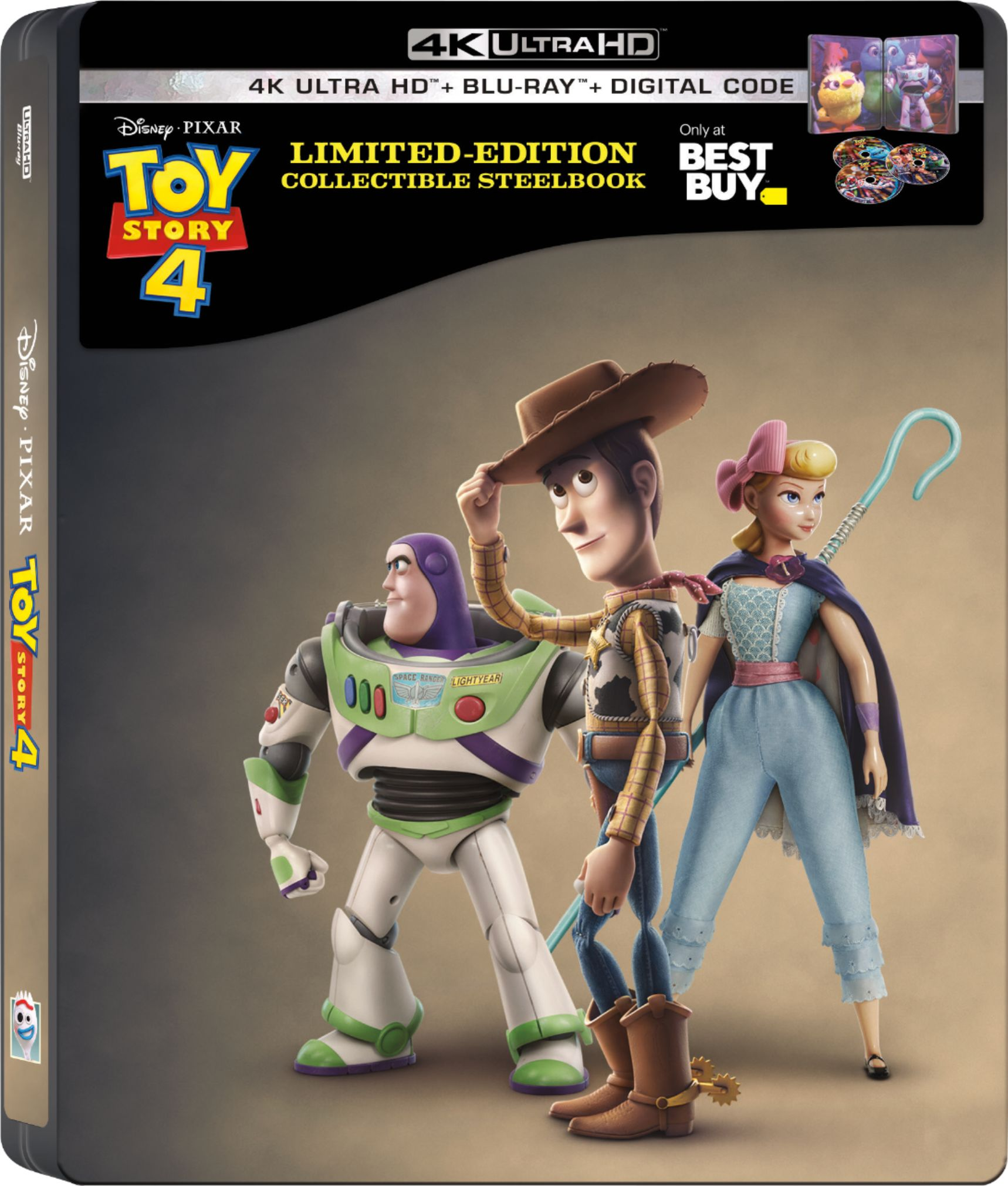 Get the Collectors Edition Toy Story 4 SteelBook at Best Buy