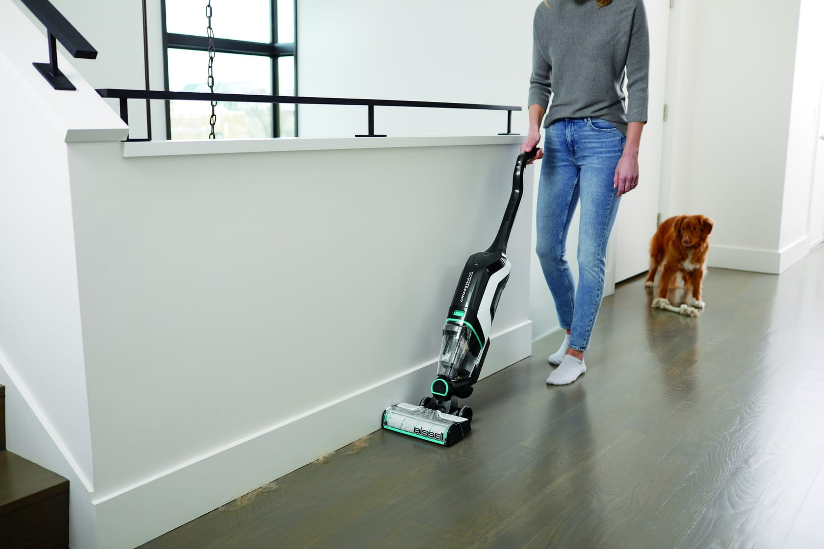 Vacuum and Wash Your Floors at the Same Time – BISSELL CrossWave