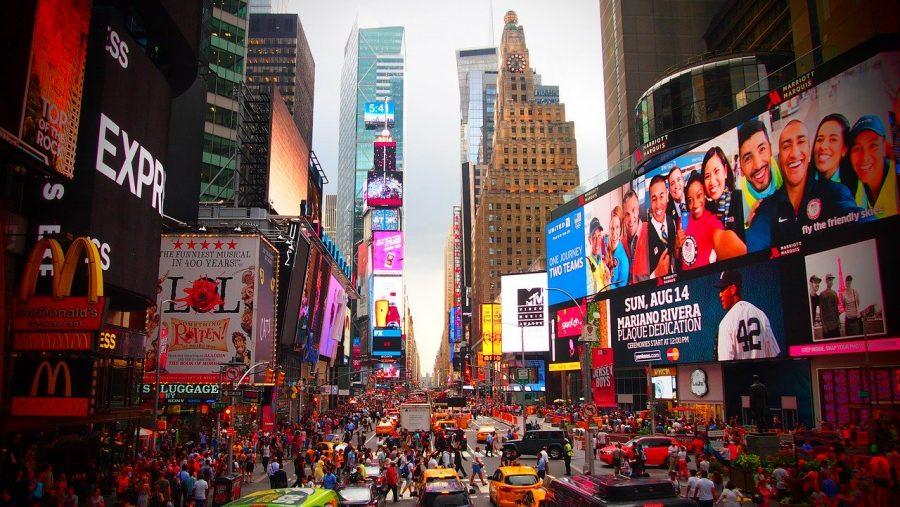 Busy New York City