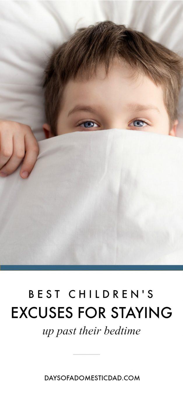 bedtime stories best children's excuses
