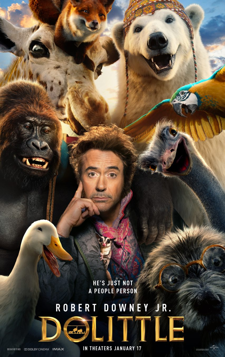 Robert Downey Jr. electrifies one of literature's most enduring characters in a vivid reimagining of the classic tale of the man who could talk to animals: Dolittle.