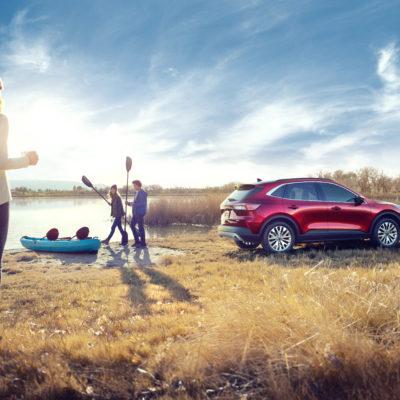 2020 Ford Escape Hybrid Tops Small SUV Class in MPG
