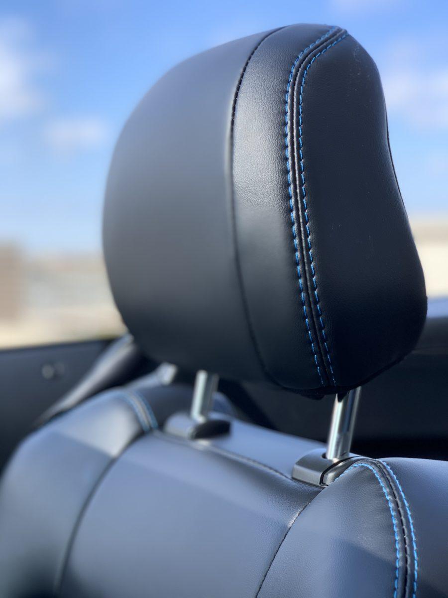 mustang convertible head rest