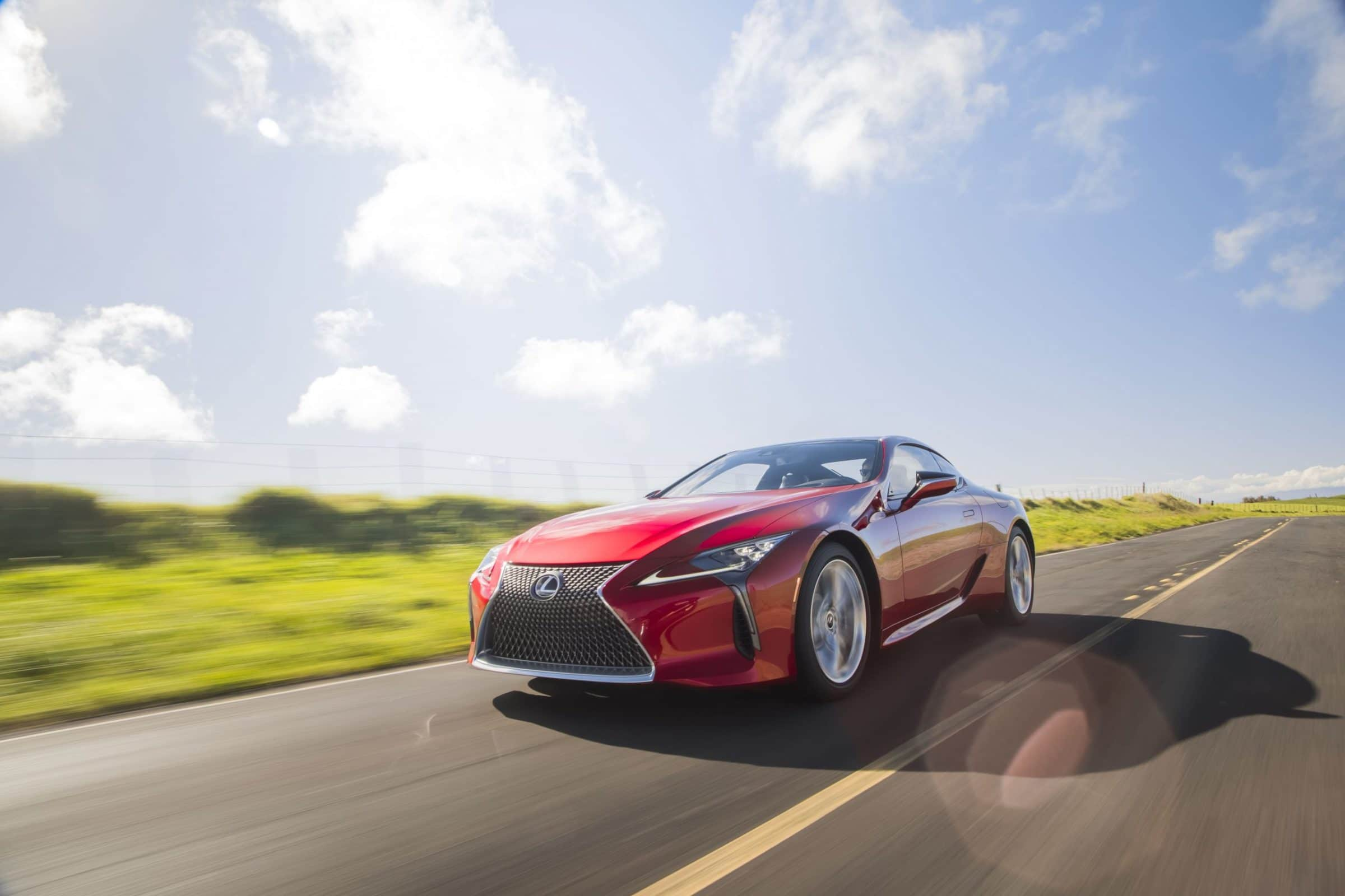 Power and Performance – 2021 Lexus LC 500