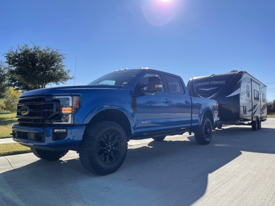 Ford F250 Super Duty Tremor towing