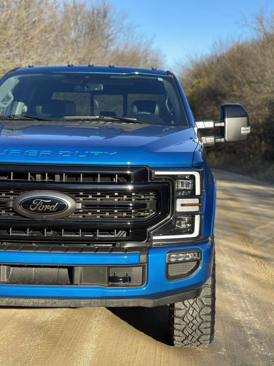 Ford F250 Super Duty Tremor front grill