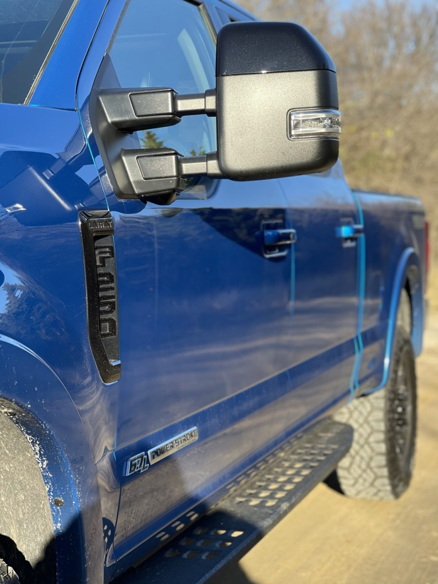 Ford F250 Super Duty Tremor mirror