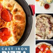 Stuffed Crust Cast Iron Pizza pin