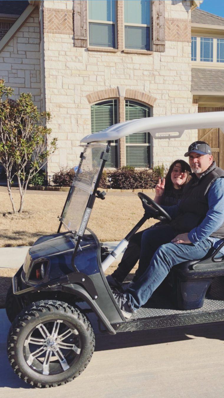 Electric Golf Cart EZ-GO