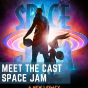 Meet the Cast Space Jam 2 pin