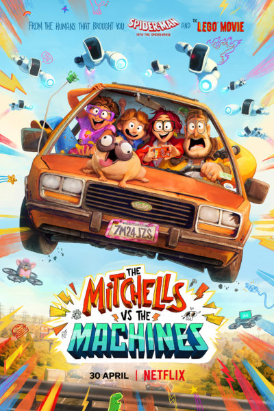 The Mitchells vs. The Machines Movie Poster