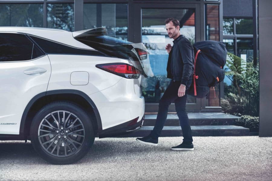 How Big is the Lexus RX Cargo Space